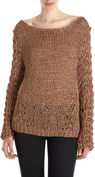 Rag & Bone Farah Sweater in Brown (copper)