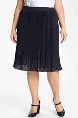 Sejour Midi Pleated Skirt - Lyst