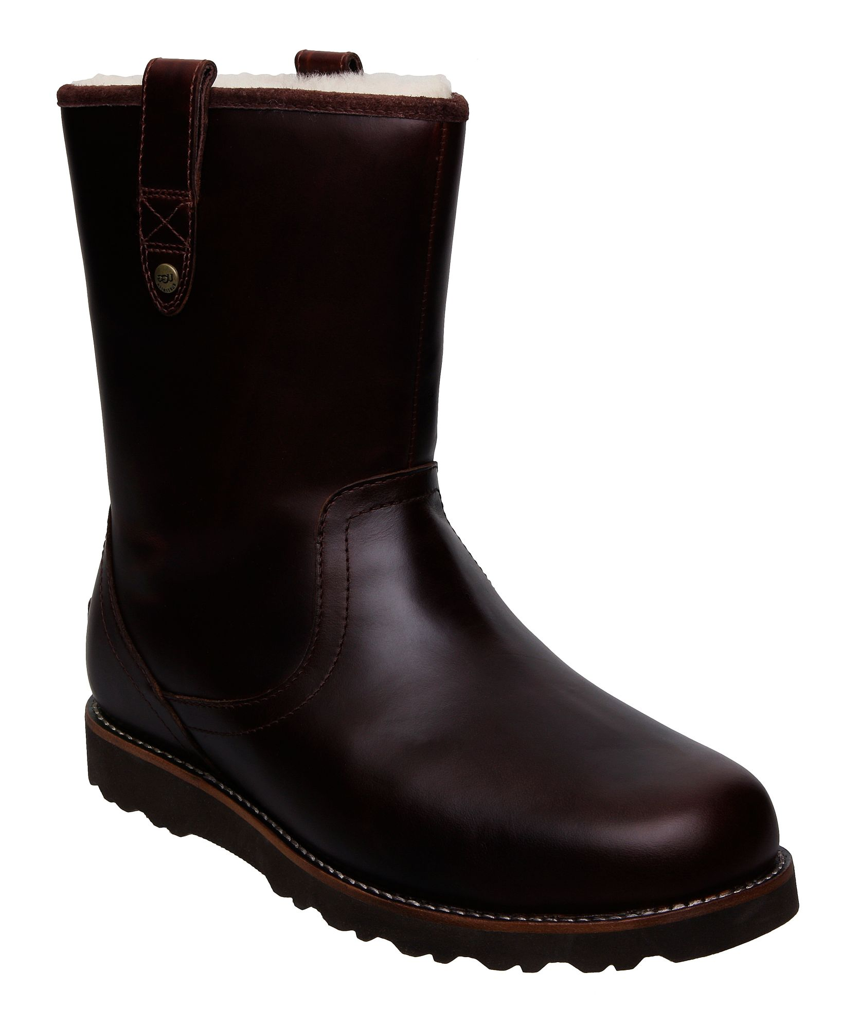 ugg m stoneman casual boots in brown for lyst