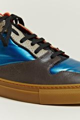 Balenciaga Mens Contrast Panel Trainers in Multicolor for Men (multicolour) - Lyst