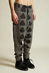 Damir Doma Mens Drop Crotch Pintano Trousers - Lyst