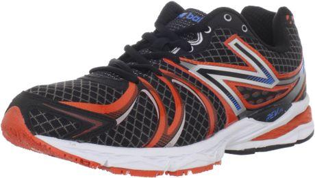 New Balance Mens M870v2 Light Stability Running Shoe in Black for Men