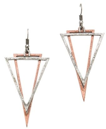 Cheap Monday Geometry Earrings - Lyst