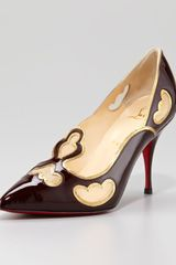 Christian Louboutin Indies Tooled Pump - Lyst