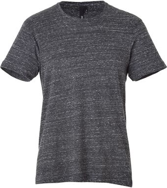 Edun Charcoal Super Soft Short Sleeve Tee - Lyst