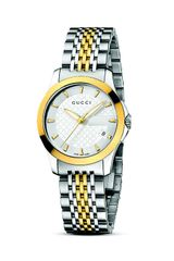 Gucci Gtimeless Stainless Steel and 18k Gold Watch  - Lyst