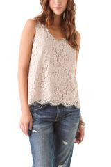 Joie Cina Lace Top - Lyst