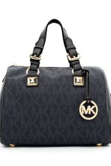 Michael by Michael Kors Grayson Medium Logo Satchel - Lyst