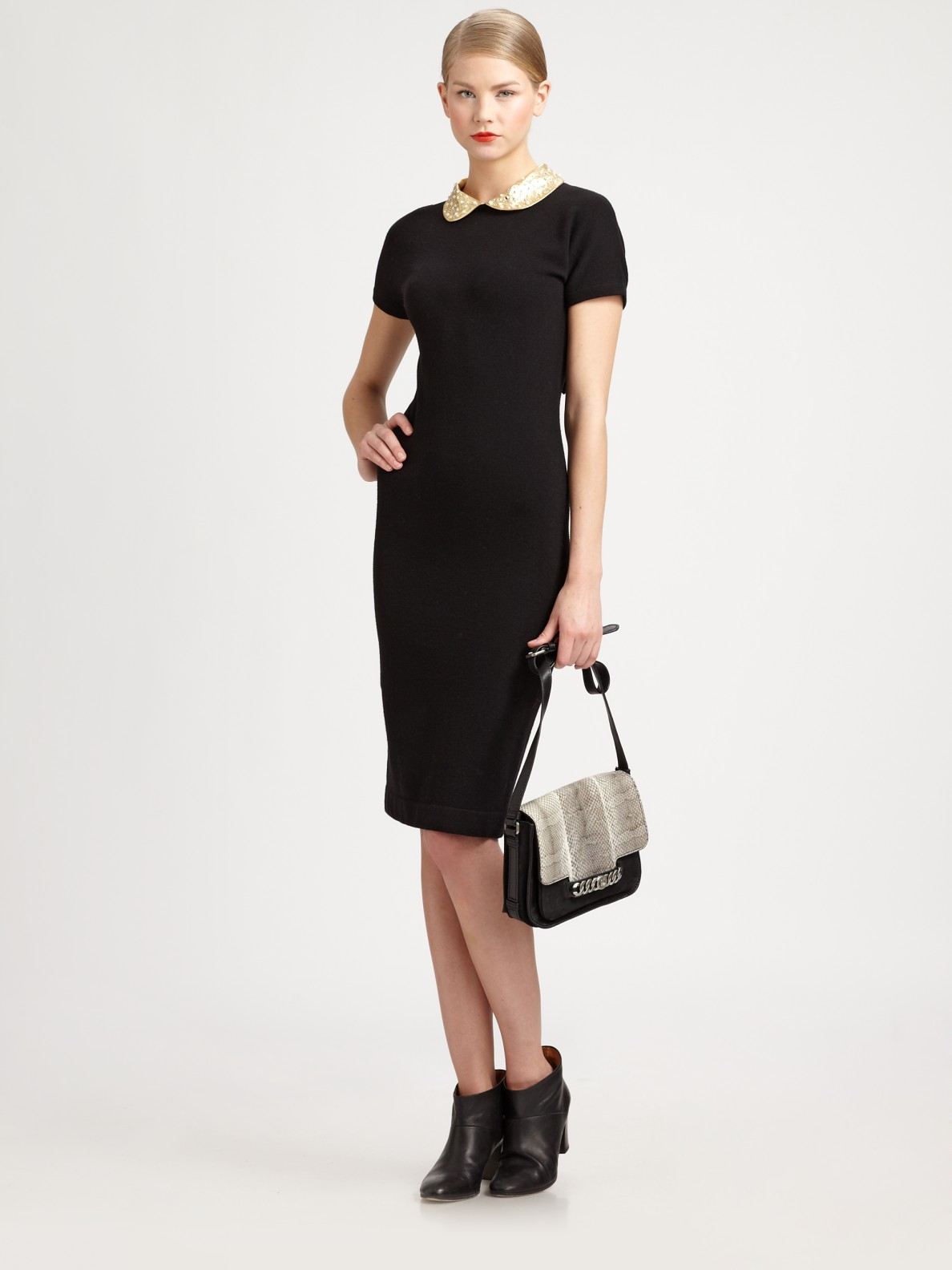 Lyst - Marc by marc jacobs Mika Dress with Embellished