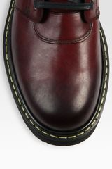 Marc Jacobs Leather Boot in Red for Men (burgundy) - Lyst
