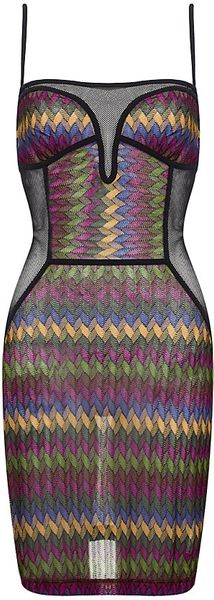Missoni Mare Mesh Dress - Lyst