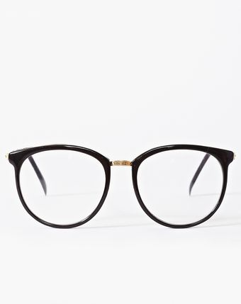 Nasty Gal Ivy League Glasses Black - Lyst