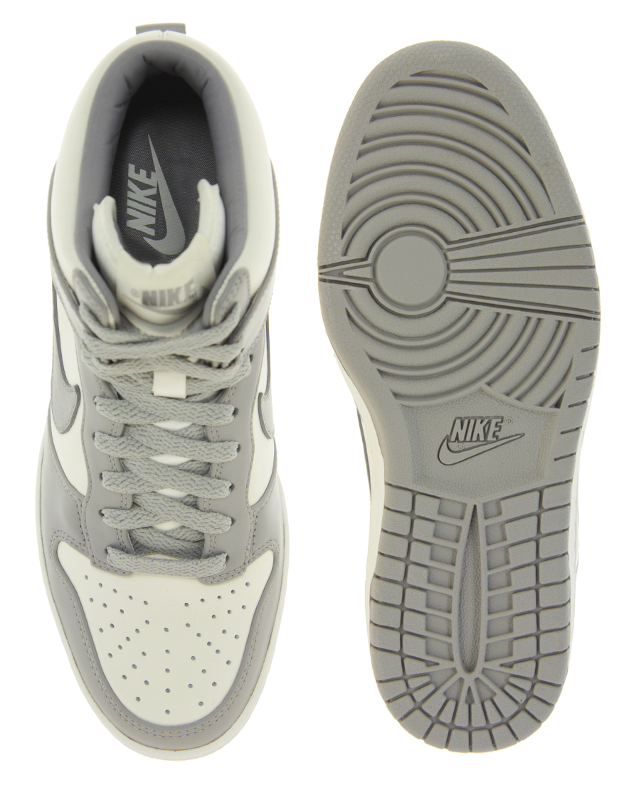 lyst nike fast love sky high wedge sneakers in white
