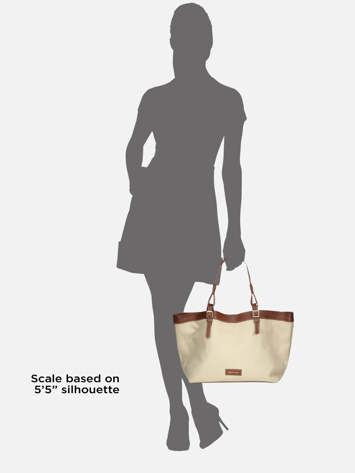 See by chlo�� Agathe Canvas Tote in Beige (tan) | Lyst