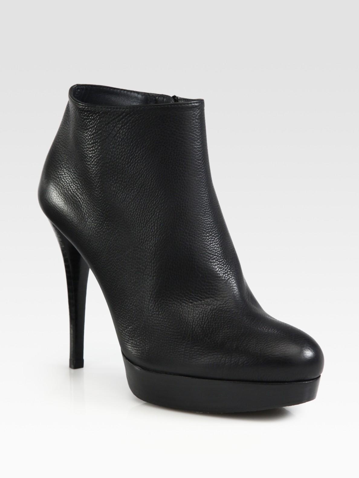 Stuart Weitzman Leather Ankle Boots 4qwAy2QW