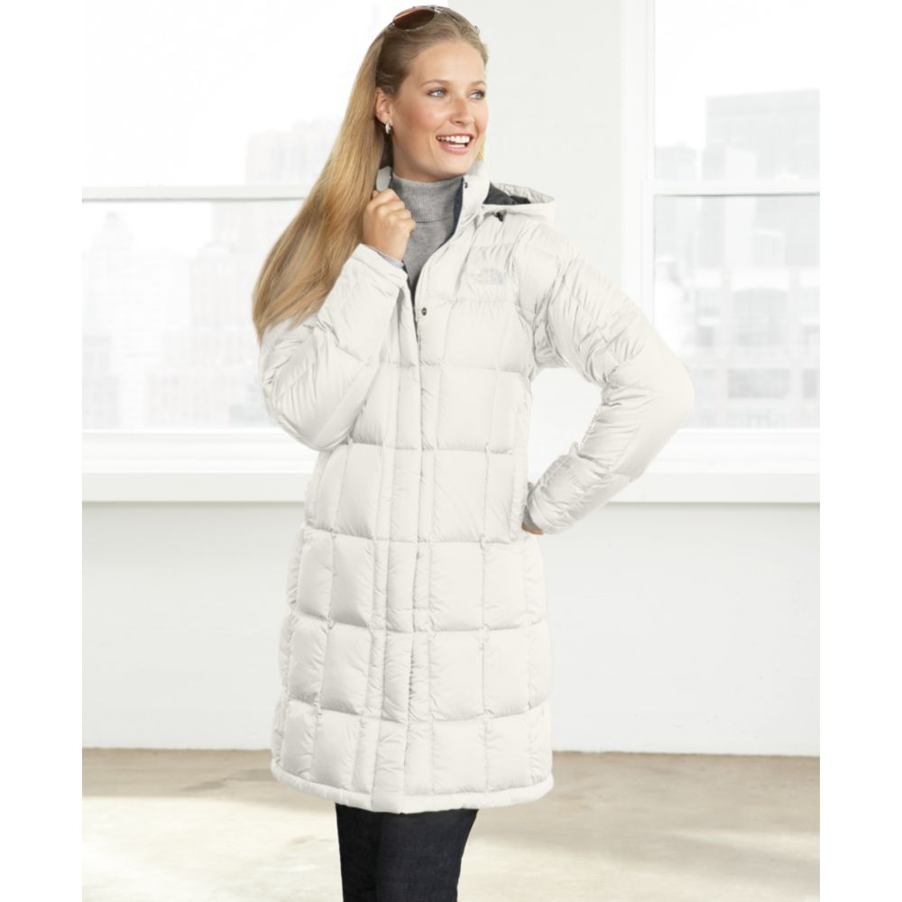 Lyst - The North Face Metropolis Parka in White 01bc0ed46