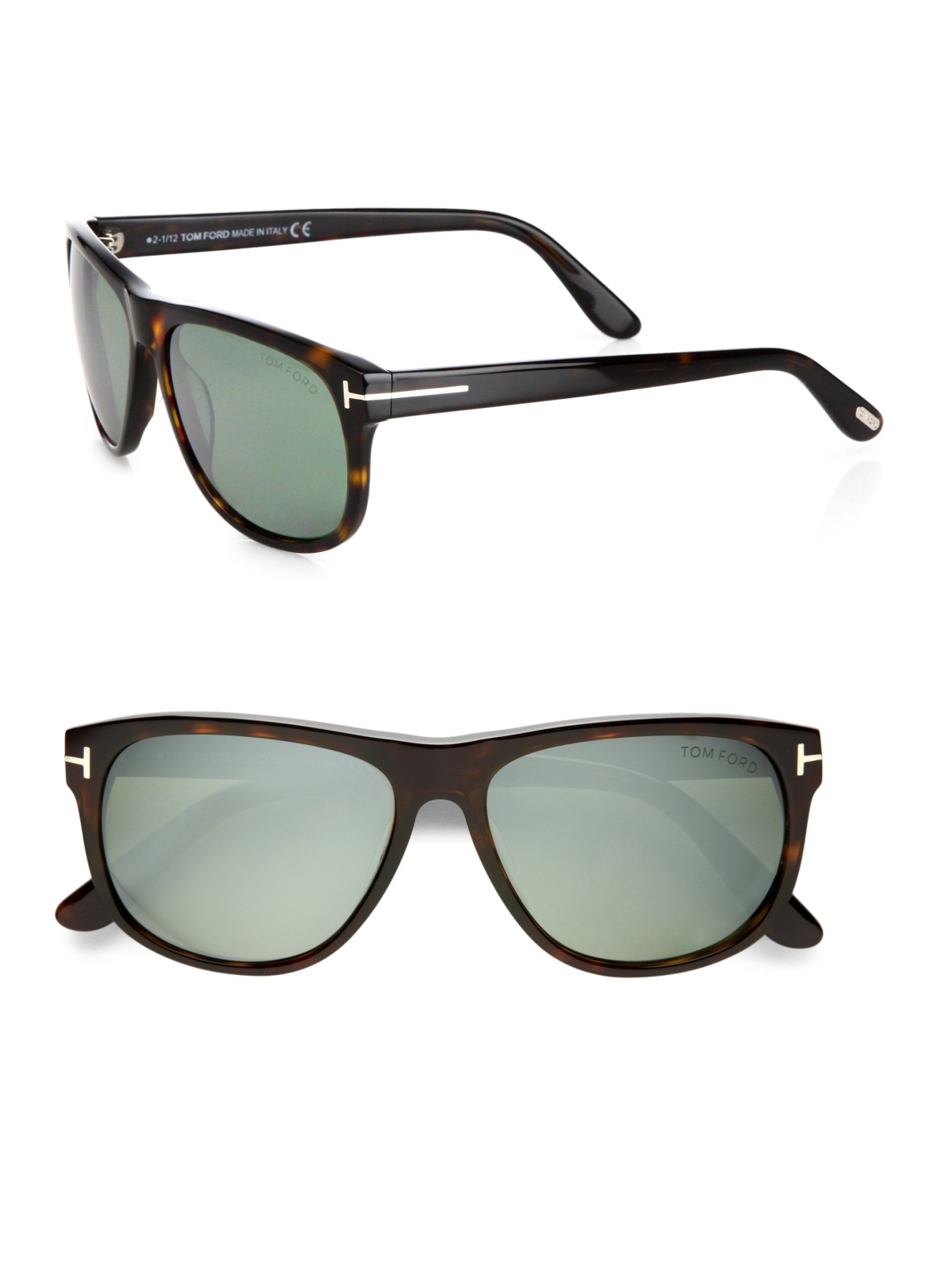 tom ford plastic wayfarer sunglasses in black for men lyst. Cars Review. Best American Auto & Cars Review