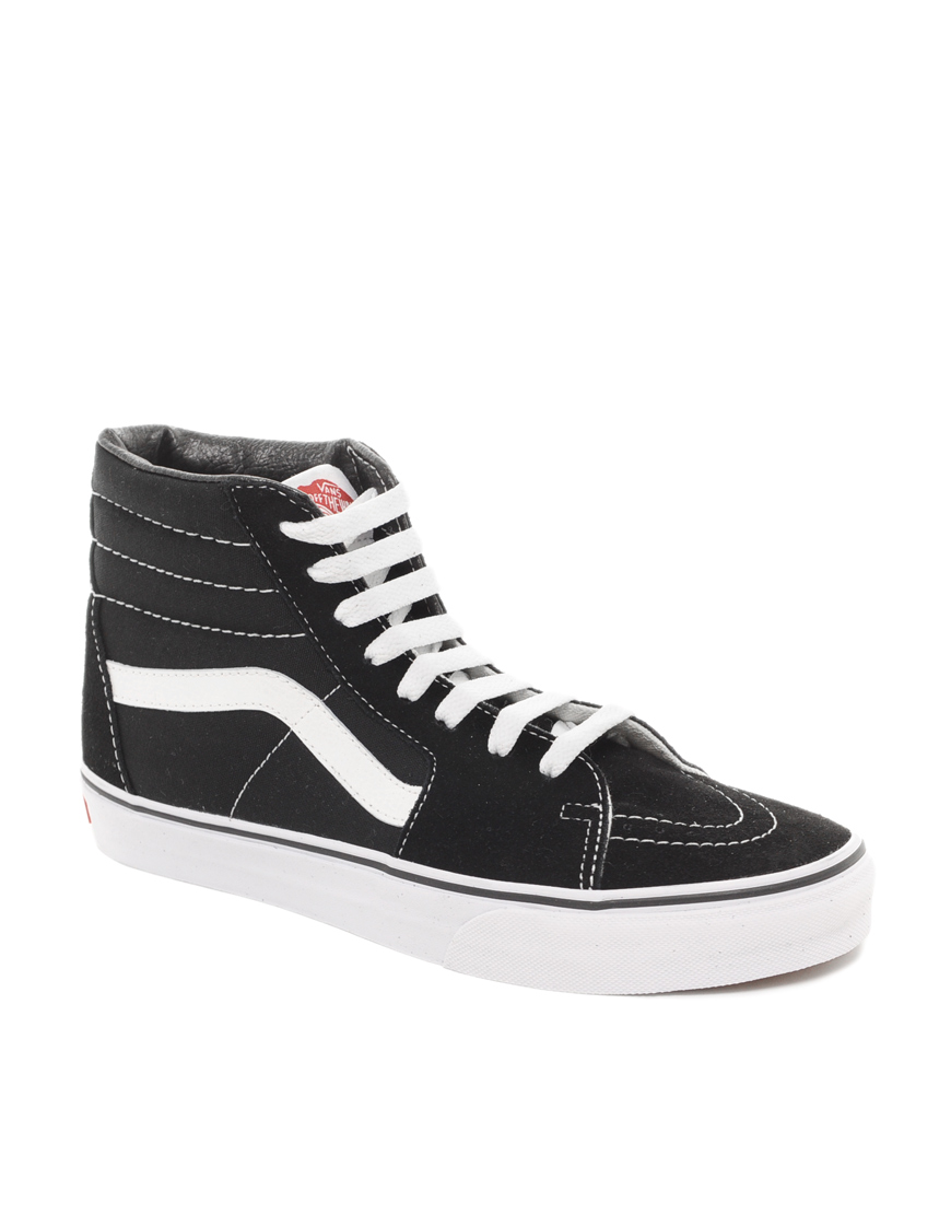 vans old skool black high cut