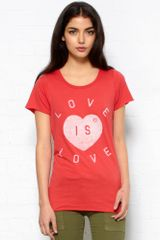 Zoe Karssen Love Is Love Tee - Lyst