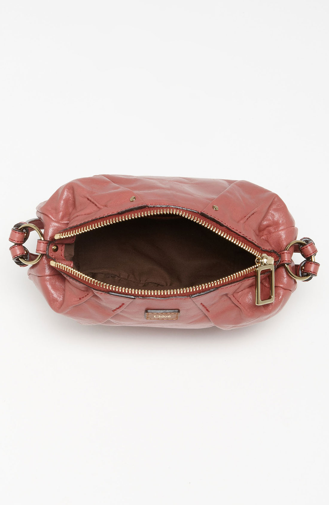 Chlo¨¦ Ethel Convertible Leather Bag in Pink (old rose) | Lyst