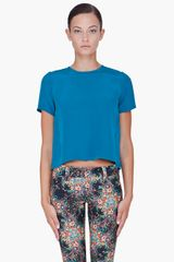 Co.  Silk T-Shirt - Lyst