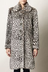 Collette By Collette Dinnigan Gregorys Girl Leopardprint Coat - Lyst