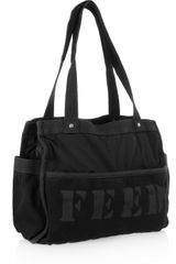 Dkny City Survival Canvas and Shell Tote in Black - Lyst
