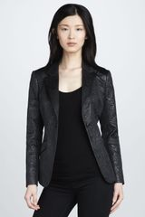 Elizabeth And James Avery Brocade Blazer - Lyst