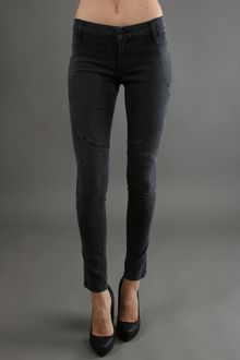 James Jeans Panel Super Skinny in Slate - Lyst