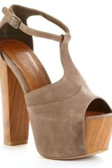 Jessica Simpson Dany Platform Sandals in Brown (coffee) - Lyst