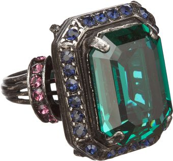 Lanvin Tutti Frutti Single Stone Cocktail Ring - Lyst