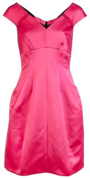 Marc Jacobs Cut Out Dress in Pink (magenta) - Lyst