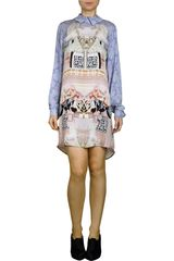 Mary Katrantzou Powdy Long Sleeve Dress - Lyst