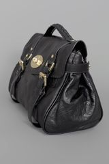 Mulberry Alexa Bag Black in Black - Lyst