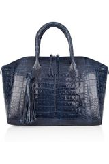 Nancy Gonzalez Crocodile Tote - Lyst