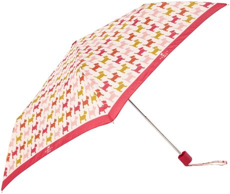 33096c778c4d Radley Euston Dog Mini Umbrella in Pink