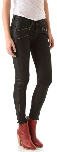 Rag & Bone Rbw 23 Leather Pants - Lyst