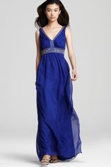Sue Wong Sw Studio By Gown Beaded - Lyst