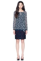 Tory Burch Lisa Dress - Lyst