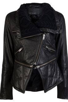 Yigal Azrouel Leather Jacket - Lyst