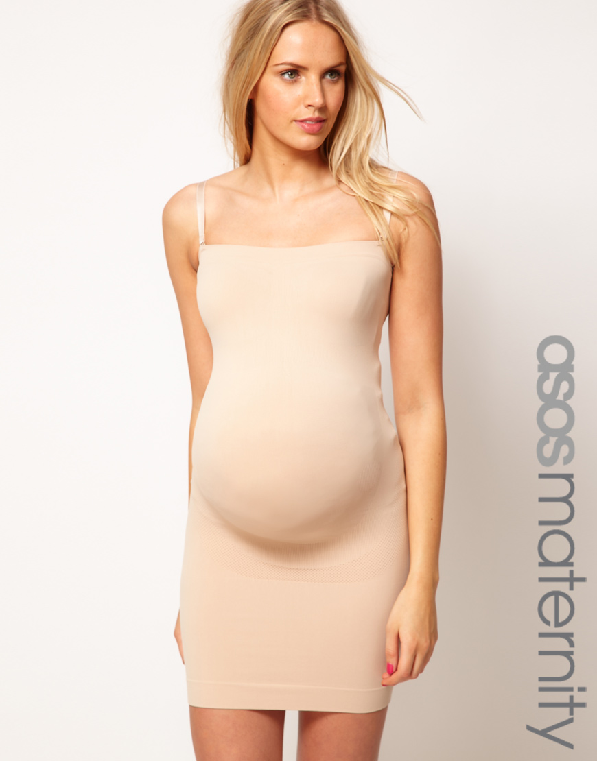 Asos Exclusive Support Shapewear Dress For The Perfect Bump in ...