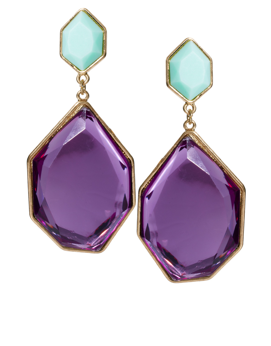 shot at earrings pm purple screen lila anise fox products