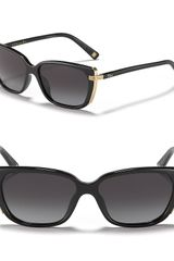 Dior Squared Cat Eye Sunglasses - Lyst