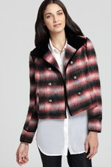 Free People Jacket Zigzag Wool - Lyst