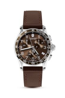 Victorinox Brown Swiss Army Chrono Classic Watch 41mm - Lyst
