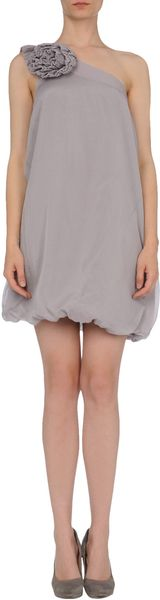 Guess Short Dress - Lyst