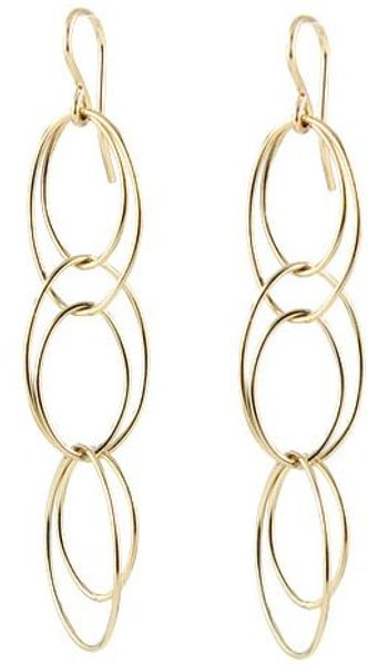 Peggy Li Loopy Earrings Gf - Lyst