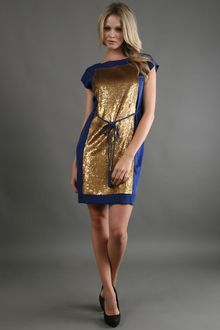 Robert Rodriguez Sequin Dress  - Lyst