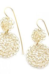 Sari Glassman Ornit Earrings Circles Collection in Gold - Lyst
