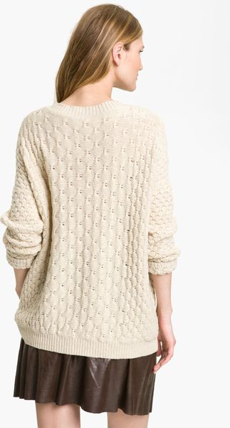 Find white oversized knit sweater at ShopStyle. Shop the latest collection of white oversized knit sweater from the most popular stores - all in one.